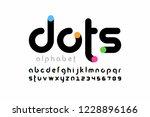 modern font design  trendy... | Shutterstock .eps vector #1228896166