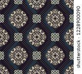 ornamental vector seamless... | Shutterstock .eps vector #1228900090