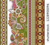 ornamental vector seamless... | Shutterstock .eps vector #1228900096