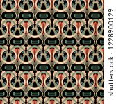 ornamental vector seamless... | Shutterstock .eps vector #1228900129