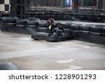 go kart track   Shutterstock . vector #1228901293