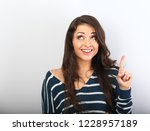 beautiful positive young casual ...   Shutterstock . vector #1228957189