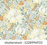 floral seamless pattern. modern ... | Shutterstock .eps vector #1228996933