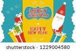 this is a bright congratulatory ... | Shutterstock .eps vector #1229004580