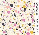 terrazzo rustic pattern. modern ...   Shutterstock .eps vector #1229005903