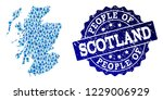 people combination of blue...   Shutterstock .eps vector #1229006929