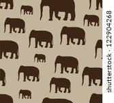vector elephants. can be used... | Shutterstock .eps vector #122904268