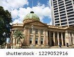 customs house   landmark in... | Shutterstock . vector #1229052916