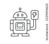 robot charging modern simple ui ...