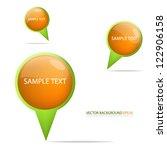 pin vector bubble for design...   Shutterstock .eps vector #122906158