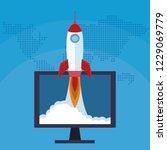 startup business concept | Shutterstock .eps vector #1229069779