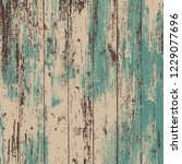 grunge wood overlay square... | Shutterstock .eps vector #1229077696