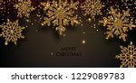 merry christmas  greeting... | Shutterstock .eps vector #1229089783