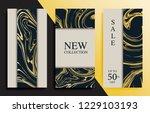 modern promotion web banners... | Shutterstock .eps vector #1229103193