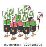 poster batteries strike for...   Shutterstock .eps vector #1229106103