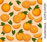 Orange Fruit With A Green Leaf...