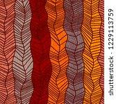 vintage seamless pattern.... | Shutterstock .eps vector #1229113759