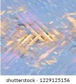 frosty winter freshness... | Shutterstock .eps vector #1229125156