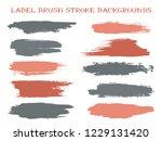 funky label brush stroke... | Shutterstock .eps vector #1229131420