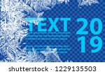 vector patterns made by the... | Shutterstock .eps vector #1229135503