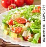 Salad With Avocado  Cherry...