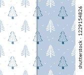 seamless vector background.... | Shutterstock .eps vector #1229154826
