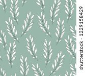 vector floral seamless pattern. ... | Shutterstock .eps vector #1229158429