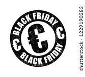 black friday euro stamp   Shutterstock .eps vector #1229190283
