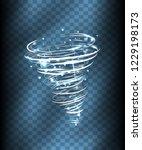 hurricane light effect. vector...   Shutterstock .eps vector #1229198173