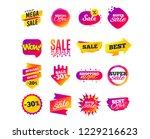 sale banner templates design.... | Shutterstock .eps vector #1229216623