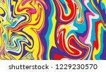 vector ink texture. hand drawn... | Shutterstock .eps vector #1229230570