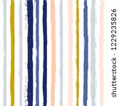 hand drawn striped seamless... | Shutterstock .eps vector #1229235826