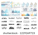 graphics and flowcharts ... | Shutterstock .eps vector #1229269723