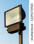 all weather halogen street lamp   Shutterstock . vector #1229273920