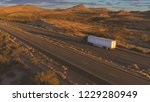 4k aerial  cars and freight... | Shutterstock . vector #1229280949