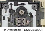 mechanism of pc dvd disk drive  ...   Shutterstock . vector #1229281000