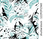 creative seamless pattern with... | Shutterstock . vector #1229291560