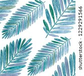 creative seamless pattern with... | Shutterstock . vector #1229291566