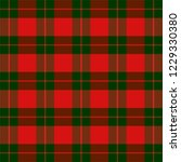 christmas and new year tartan... | Shutterstock .eps vector #1229330380
