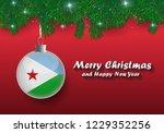 vector border of christmas tree ...   Shutterstock .eps vector #1229352256