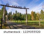 A Whimsical Ranch Gate...