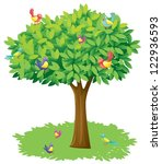 Illustration Of A Tree And...