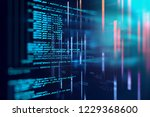 programming code abstract... | Shutterstock . vector #1229368600
