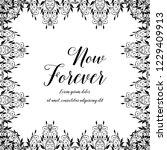 now forever botanical floral... | Shutterstock .eps vector #1229409913