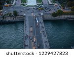 paris france october 6  2016 ... | Shutterstock . vector #1229427823