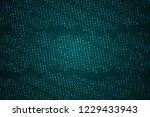 binary computer code background ...   Shutterstock . vector #1229433943