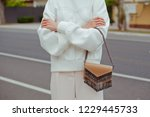 detail of young fashionable...   Shutterstock . vector #1229445733