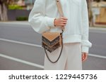 detail of young fashionable...   Shutterstock . vector #1229445736