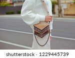 detail of young fashionable...   Shutterstock . vector #1229445739