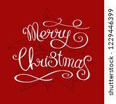 hand made lettering phrase ... | Shutterstock .eps vector #1229446399